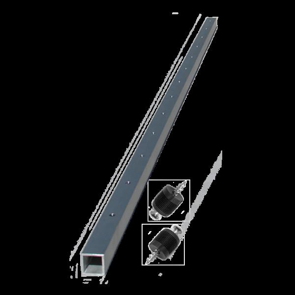 aluminum brace for raliing
