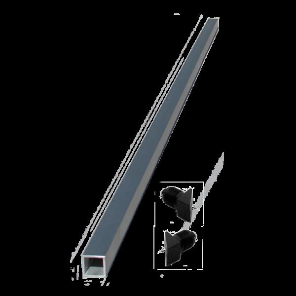 aluminum brace for railing stairs